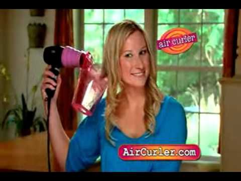 omg love this, makes my hair plump and sassy. Air Curler As Seen On TV Commercial - YouTube