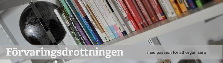 Vägghängt! Inspiration | Förvaringsdrottningen    http://forvaringsdrottningen.com/2012/08/05/vagghangt-inspiration/