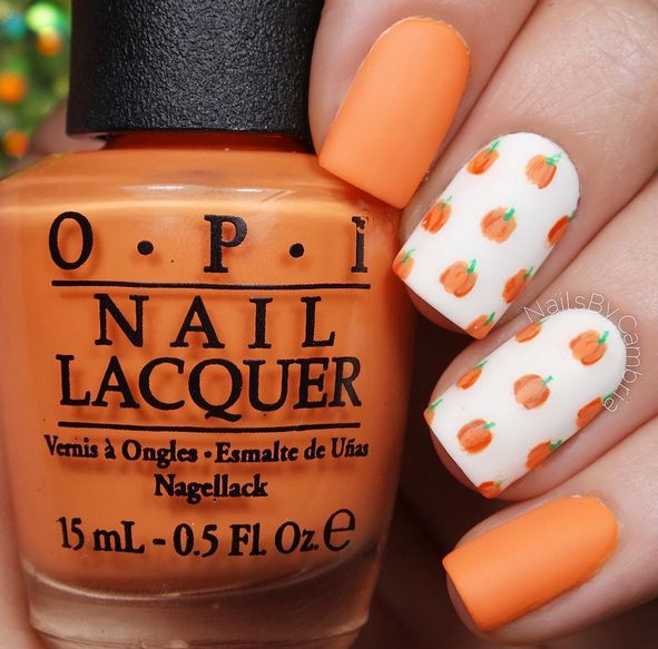 Best 25+ Pumpkin nail art ideas on Pinterest | Fall nail art, Halloween nail  art and Cute halloween nails - Best 25+ Pumpkin Nail Art Ideas On Pinterest Fall Nail Art