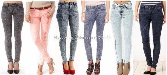 Одежда джинсы варенки мода