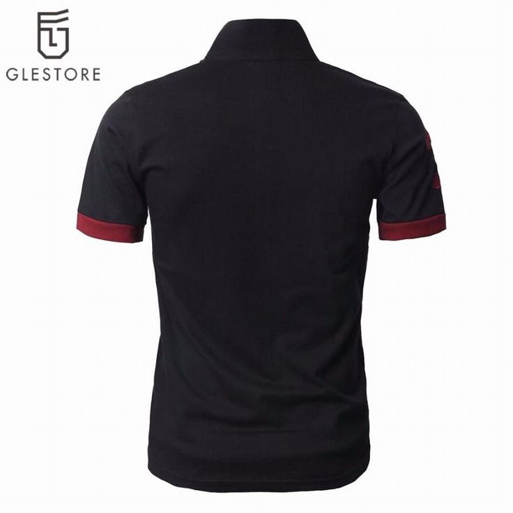 Deer Embroidery Fashion Men Polo Classic Short Sleeve Cotton Shirts Braethable Brand Designer Male Solid Camisa Polo Shirt M-XXL