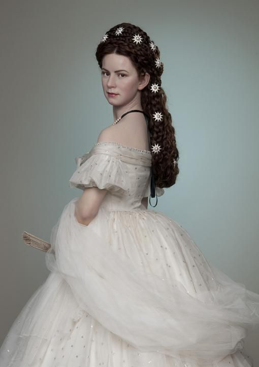 Wax figure of Sisi (empress Elisabeth of Austria) from Madame Tussauds Museum in Vienna
