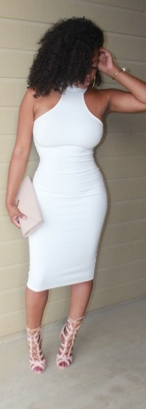 All White Affair / Fashion By Teki Reshell