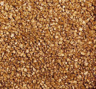 Aquarienkies, Rundkies 5kg, 2-3mm, GOLD metallic