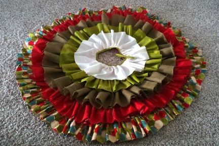 21 Christmas Tree Skirts to Make....fun designs and so much better looking than retail tree skirts