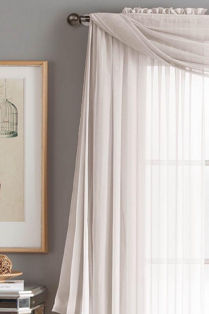Best 25 Scarf Valance Ideas On Pinterest Window Scarf