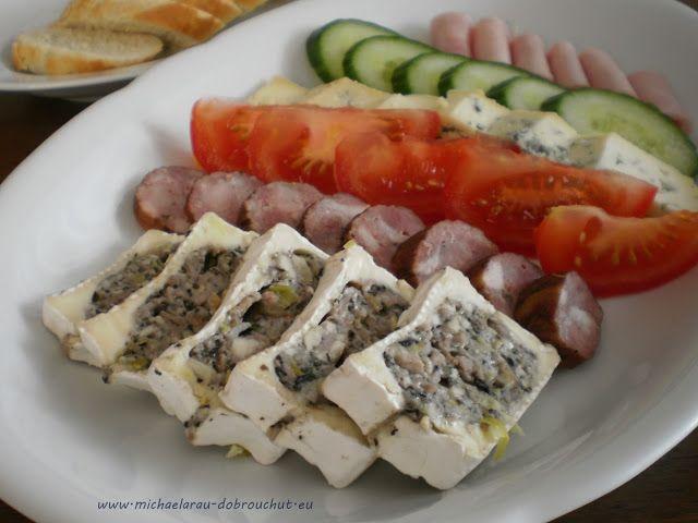 Dobrou chuť: Plněný hermelín - chuťovka