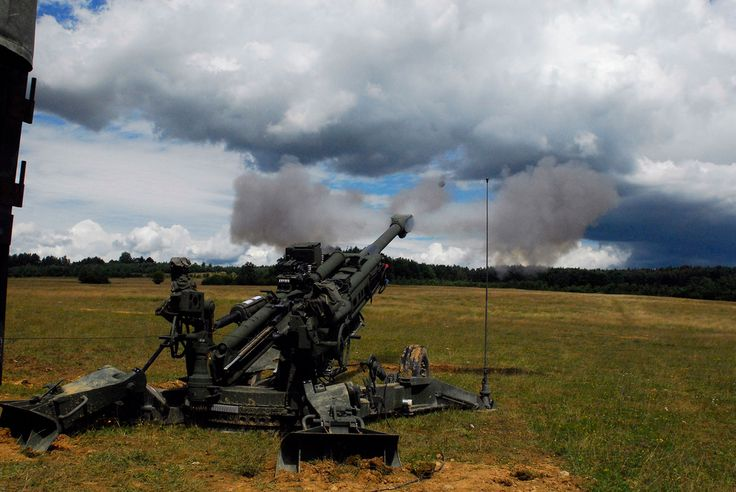 https://flic.kr/p/6KkSG1 | Test-fire of the the M777 Howitzer | Soldiers from the 2nd Stryker Cavalry Regiment fire the M777 Howitzer during a training exercise at the Grafenwoehr Training Area on July 24, 2009. The unit is the first artillery unit in Europe to conduct live-fire exercises with the new weapons system.  See more at www.army.mil  Europe-based Soldiers get chance to test-fire, train with Army's newest howitzer