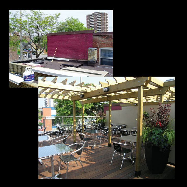 Rooftop patio- part 1
