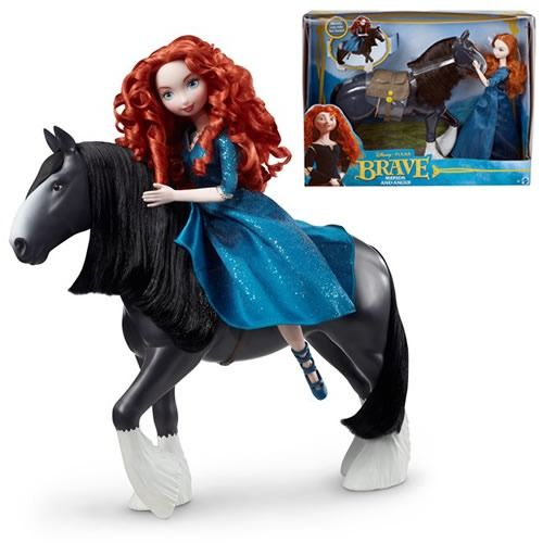 Anime merida set poup e merina cheval angus film - Cheval rebelle ...