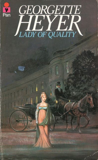 Lady of Quality by Georgette Heyer. Pan 1973. by pulpcrush, via Flickr