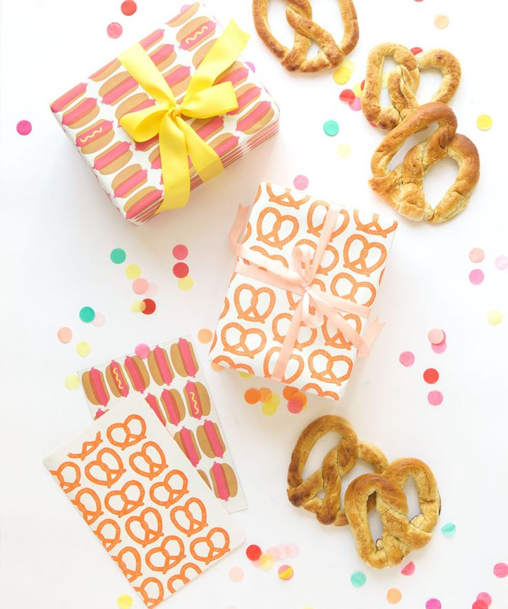 NYC Street Food Gift Wrap – Oh Happy Day Shop