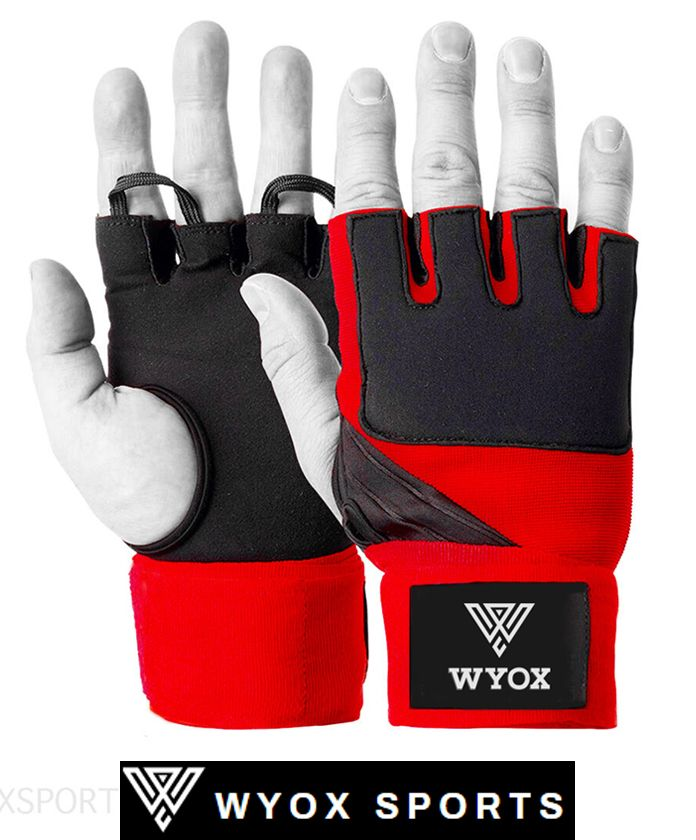 Inner Hand Wraps For Boxing Gloves Red Wyox Sports Gloves Hand Wrap Wrist Wrap