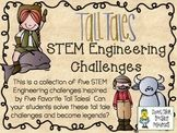 STEM Engineering Challenge Five Pack ~ Tall Tales Set