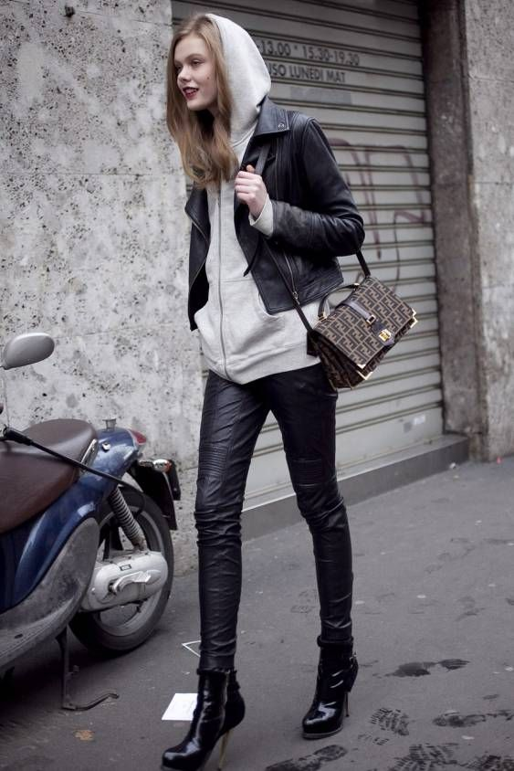 29 best Hoodies   Leather Jackets images on Pinterest