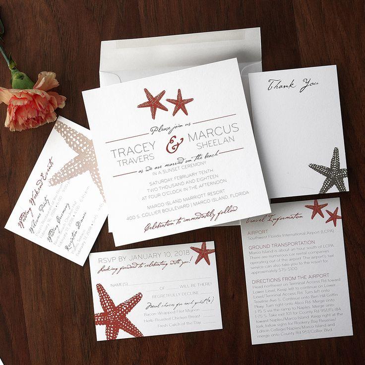 watch wedding invitation movie online eng sub%0A Starfish Wedding Invitations The American Wedding  http   www theamericanwedding com