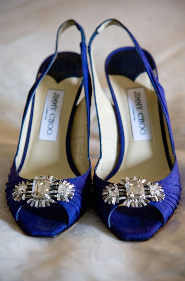 find this pin and more on cobalt blue something blue jimmy choo bridal pumps
