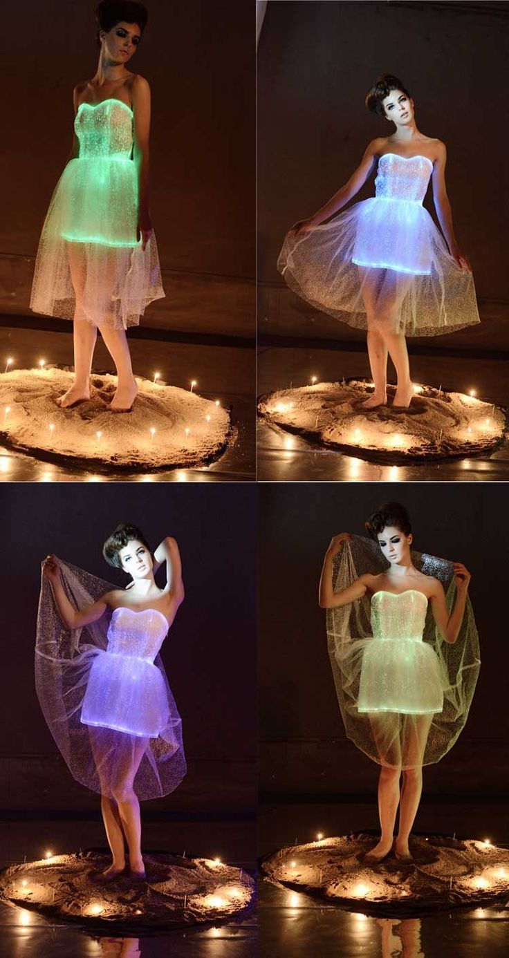 New Fashion Design GLOW IN THE DARK PARTY DRESSES For Wholesale&Export