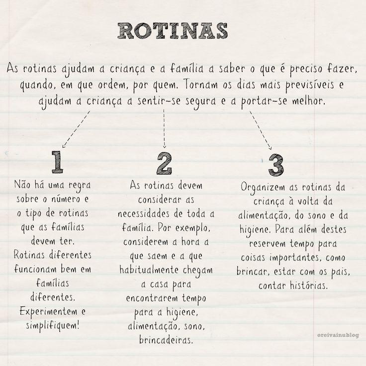 O REI VAI NU: JÁ TENHO 3 ANOS! - ROTINAS