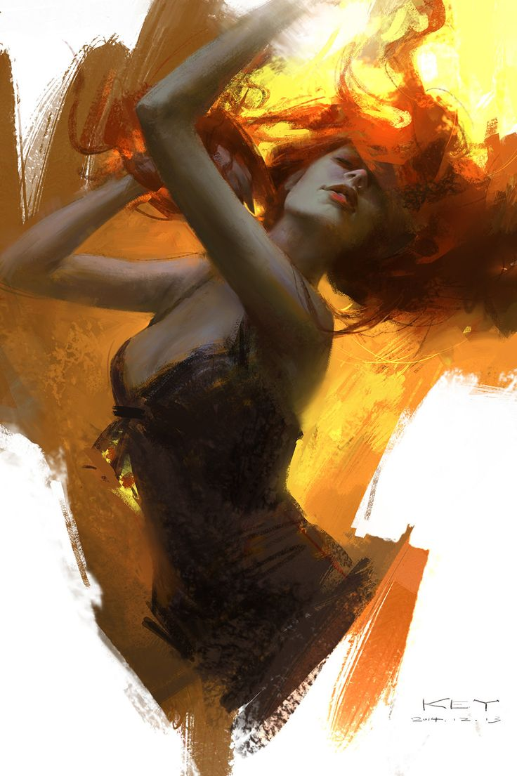 ArtStation - Painting some photos of my favorite,to Practice my drawing skills, Keyi Li