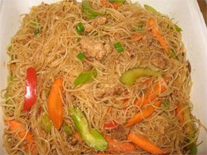 Filipino Pancit Bihon Guisado recipe