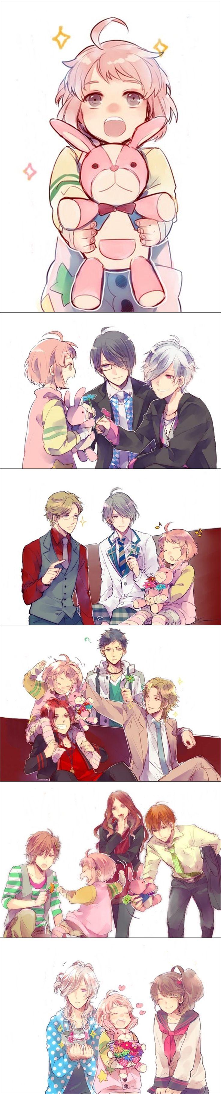 Brothers Conflict - Yusuke, Hikaru, Subaru, Futo, Louis, Tsubaki, Azusa, Natsume, Kaname, Iori, Wataru, Masaomo, Ukyo and Ema