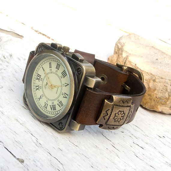 Hey, I found this really awesome Etsy listing at https://www.etsy.com/listing/204299232/mens-leather-watch-womens-leather-watch