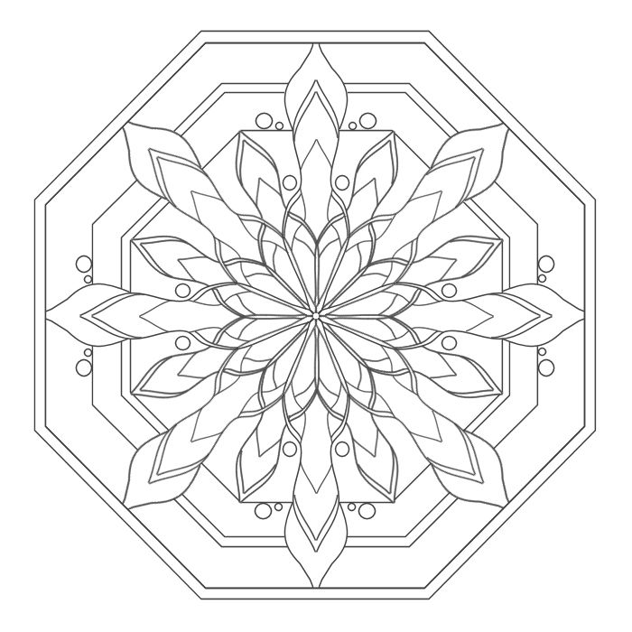 1291 best Mandalas images on Pinterest  Mandalas Coloring pages