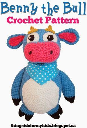 Benny the Bull Crochet Pattern