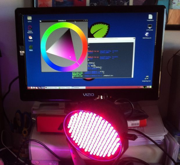 Picture of Raspberry Pi as a DMX light controller
