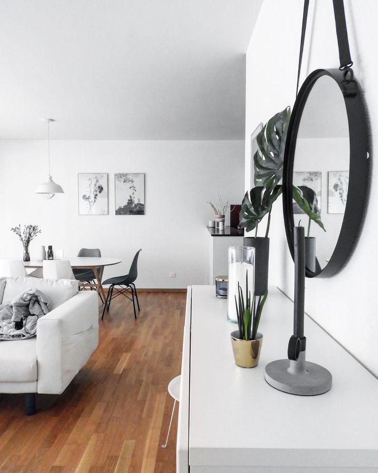 die besten 25+ spiegel dekorieren ideen auf pinterest ... - Deko Wandspiegel Wohnzimmer