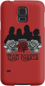 Haven Syfy Inspired Phone Cases/Skins |   Haven Team Parker Sides Of Audrey Black Logo | Snap Cases,Tough Cases, & Skins for Galaxy S3-S4-S5-S6-S6 Edge-S6 Edge Plus-S7-S7Edge | iPhone 4s/4 5c/5s/5 6/6Plus SE/5s/5 & iPhone Wallets **All designs available for all models.