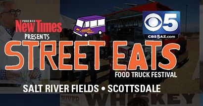 By Contributor | Phoenix New Times The Street Eats Food Truck Festival allows food truck fans to enjoy two full days of street food mania with the largest collection of food trucks in the southwest. Nosh on every type of cuisine imaginable! This five-acre festival takes place in late January/early February and includes live bands, … #winter #ScottsDale #AZ #hitrentals