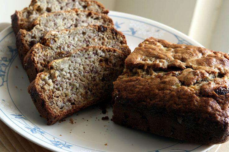 Chlebek bananowy z kawą i toffee. Przepis na:  http://kawa.pl/przepisy/przepis/chlebek-bananowy-z-kawa-i-toffee