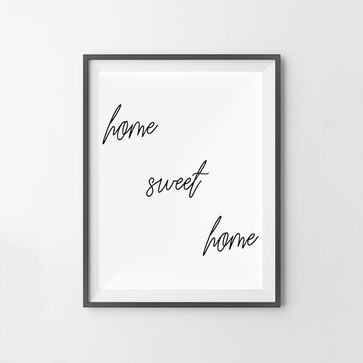 """Home Sweet Home"" wall art print. This print comes with 4 different sizes to download. 5x7 JPG, 8X10 JPG, 11X14 JPG, 16x20 JPG. THIS IS A DIGITAL DOWNLOAD FILE ONLY. Enter code ""25OFF"" when you buy 2 or more prints to save 25% off your entire order! https://www.etsy.com/au/listing/514658925/home-sweet-home-print-digital-print?ref=related-4"