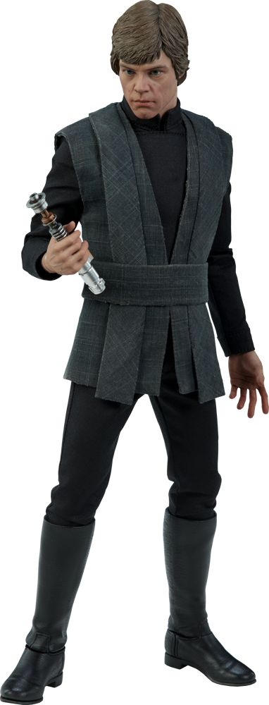 Stars wars Trilogy Luke Skywalker Deluxe Sixth Scale Figure by Hot Toys from sideshow collectibles click to view or purchase