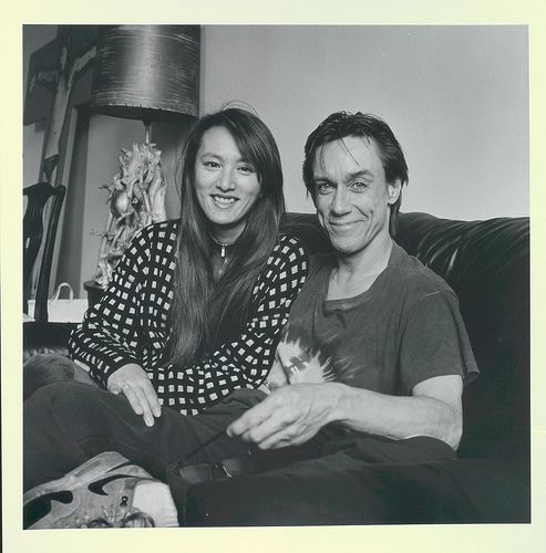 Iggy Pop (James Osterberg) with wife Suchi | Flickr - Photo Sharing!