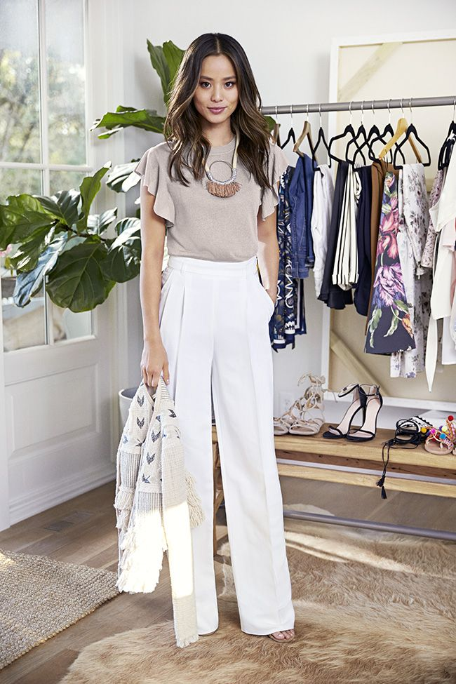 Banana Republic x Jamie Chung Part 1 - What the Chung? Pinterest: KarinaCamerino