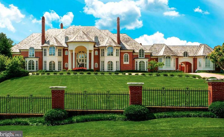 This Stately Brick Home Is Located At 11510 Highland Farm Road In Potomac Maryland And Is Situated On Nearly 3 Acres O Potomac Mansion Floor Plan Stucco Homes