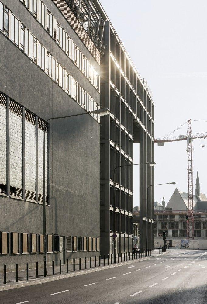 Städtische Bühnen Theatre Workshops / gmp architekten