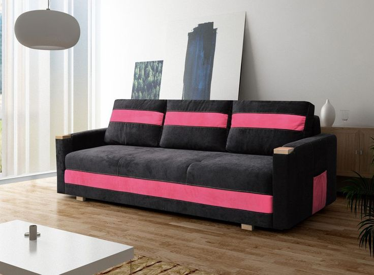 30 best Sofa images on Pinterest Sofa beds, Fabric sofa and - wohnzimmer sofa mit schlaffunktion