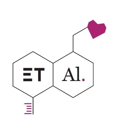 """Identidad Gráfica (fictícia) para Empresa Laboratorios farmaceuticos """"ET AL.""""  0"""