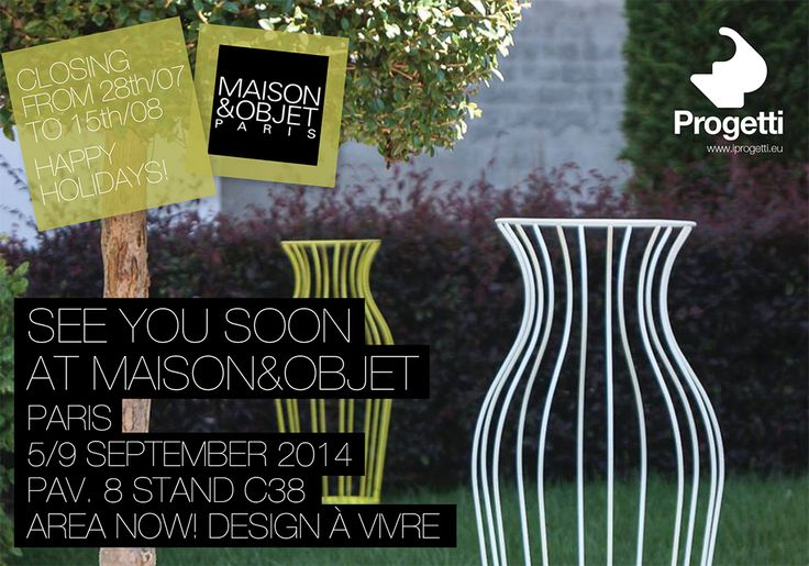 Happy Holidays and see you in September at Maison&Objet Paris