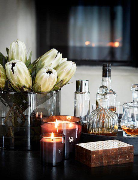 Classy cocktail hour thanks to Stockholm Vitt - Interior Design:
