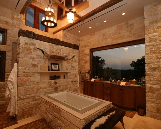 Texas Ranch Design Pictures Remodel Decor And Ideas Page 7 Bathrooms Pinterest