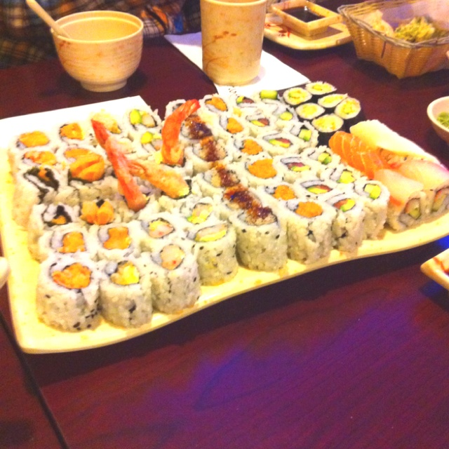 sushi is addicting.