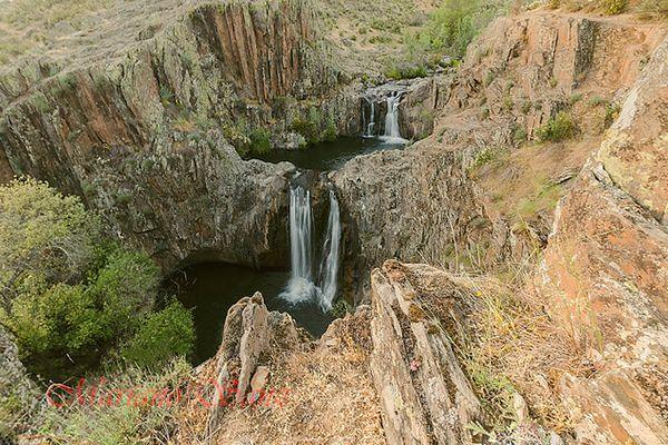 Cascada del Aljibe (Guadalajara, España)
