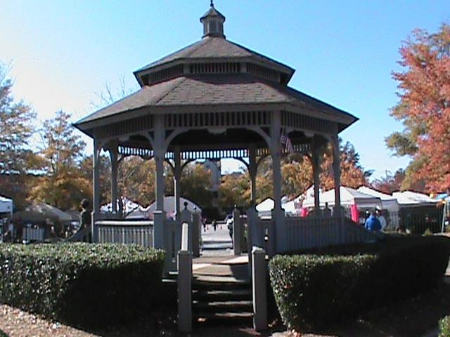 Heritage Park At The Lane Brown Gazebo In Fayetteville GA