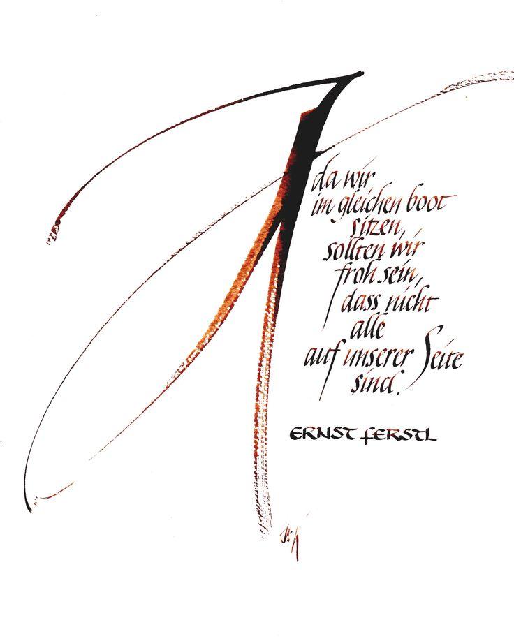 Schriftbilder sind Kombinationen von klassischer oder freier Malerei oder Grafik mit Schriftelementen. Das Ausbalancieren beider Elemente ist ein Mittel, sich selbst, seine Gedanken und Gefühle auszudrücken und dem Geschriebenen Ausdruck zu verleihen.