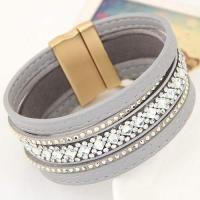 Diamond Decorated Multilayer Design Gray
